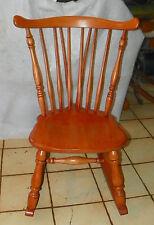 Maple Sewing Rocker / Nursing Rocking Chair by Heywood Wakefield  (R235)