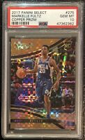 2017 Markelle Fultz Panini Select /49 COPPER PRIZM #275 Rookie RC PSA 10 - Pop 4