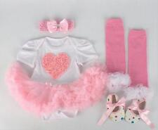 Reborn Doll Side Dress Toys Bow Socks Shoes For Sets Holiday Present 20-22'' Toy