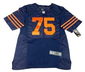 Chris Long 75 Nike Mens Onfield NFL Team Players Jersey Blue Orange V Neck L New