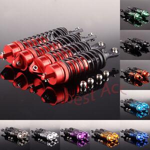 Aluminum  Front&Rear shock absorber Fit Traxxas Slash 4x4 4PCS SLA014+SLA015 RC