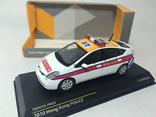 1/43 Kyosho Tiny Toyota Prius 2010 Hong Kong Police Car ATC43005