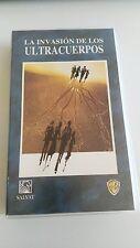 LA INVASION DE LOS ULTRACUERPOS VHS COLECCIONISTA EDICION ESPAÑOLA