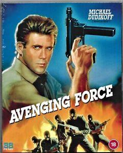 Avenging Force Blu ray (Michael Dudikoff) Region B Includes Registered Post