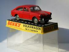 DINKY TOYS MECCANO 163 BOXED VOLKSWAGEN 1600 TL FASTBACK 1966 MINT IN HARD CASE