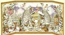 MECCANICO stile vittoriano Babbo Natale Babbo Natale cherubino angelo calendario avvento