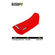 1994-2000 HONDA XR 70 All Red FULL GRIPPER SEAT COVER BY Enjoy MFG