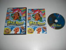 WILD RIDES - WaterPark Factory Pc Cd Rom - FAST DISPATCH