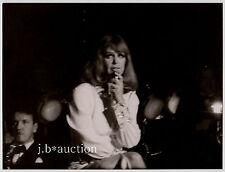 HILDEGARD KNEF Live / Stuttgart Liederhalle * Vintage Foto um 1970 #5