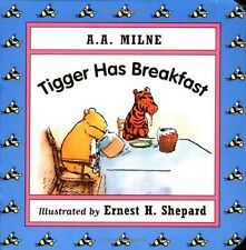 Tigger Has Breakfast Mini Board Book Winnie the Pooh AA Milne Baby Toddler Child