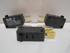 Lot of 3  Plunger Type MICROSWITCH V7-1C17E9