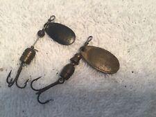 Vintage Mepps Avila #1 & #2  Spinner Brass Lure