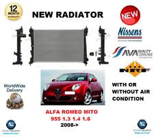 PER ALFA ROMEO MITO 955 1.3 MULTIJET 1.4 TURBO TJET 1.6 JTDM 2008-> RADIATORE