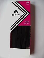 Isotoner Gloves Womens Classic Gloves Lined Fleece Stretch Black OSFM NWT