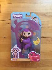 NEW ~ Fingerlings. Purple. WowWee. Baby Monkey. Interactive. .