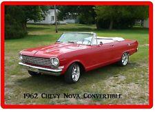 1962 Chevy Nova Convertible Auto Refrigerator / Tool Box Magnet