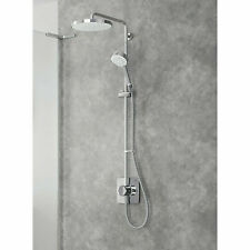 Mira Beacon Dual mixer shower Chrome effect Thermostat Brand new Boxed RRP £330