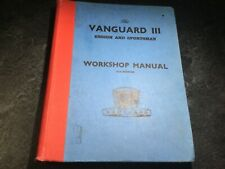 1955-1961 Standard Vanguard Ensign Sportsman Iii Workshop Manual Pickup Vignale