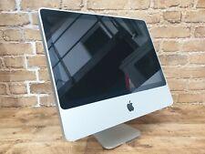 Apple iMac 20-Inch Core 2 Duo 2.40GHz No HDD 4GM RAM Damaged screen 140489