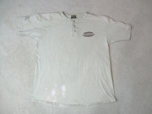 Harley Davidson Shirt Adult 2XL XXL Brown Black Motorcycle Biker Illinois Mens *