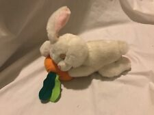 "GAF Great American Fun Bunny Rabbit Easter Carrot Sleepy 11"" Plush ToyStuffed *3"