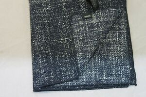 Hugo Boss Speckle Navy Pocket Square $75