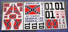 BAJA 5T GENERAL LEE RC Car Tamiya Decals Stickers CUT Kit 1/5 Scale HPI DUKE OF