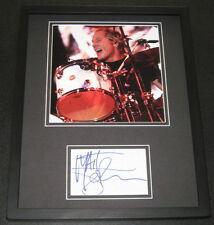 Matt Sorum Guns n Roses Signed Framed 11x14 Photo Display JSA