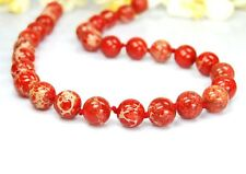 Gorgeous Sea Sediment Jasper Chain in Ball Shape d-12 mm