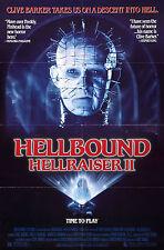 Hellbound Hellraiser 2 - Doug Bradley - A4 Laminated Mini Movie Poster