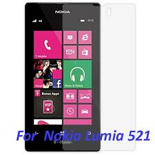 Ultra Crystal Clear LCD Screen Protector Film Cover 4 Nokia Lumia 521 - tmobile