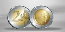 2 Euro Gedenkmünze 2014 Niederlande Doppelportrait