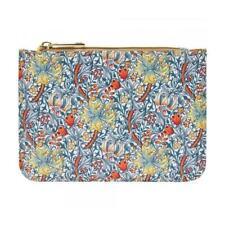 William Morris Golden Lily Coin Purse Large Floral Womens Cash Wallet Pouch