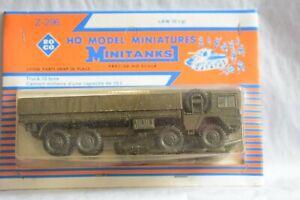 HO Scale-Roco Minitanks Z296 MAN KHD 10-Ton Off Road Truck 8X8 NEW