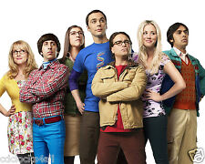 The Big Bang Theory CAST 8 x 10 / 8x10 GLOSSY Photo Picture IMAGE #2
