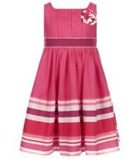 Monsoon Niña Samara Raya Vestido-Rosa 6 años de edad