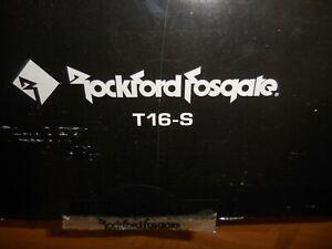 """ROCKFORD FOSGATE T16-S Full Range 6"""" Component Set"""