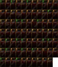 Diablo 3 RoS Xbox One [Softcore] - alle Schmied Pläne-über 70 einzigartige Pläne!
