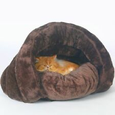 Cat Bed Soft Nest Kennel Bed Cave Cats Dogs House Winter Warm Sleeping Mat Pad