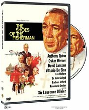 SHOES OF THE FISHERMAN (1968 Anthony Quinn)  - DVD - UK Compatible -  sealed