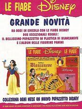 X0859 Biancaneve e i 7 Nani - Le fiabe Disney - Pubblicità 1995 - Advertising