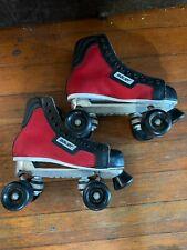 Vintage Bauer Hockey Style Roller Skates Quad Size 7