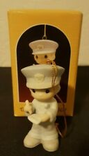 Precious Moments Christmas Ornament with Box - Trust and Obey - Vintage 1986
