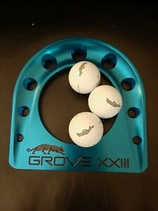 Scotty Cameron Grove XXIII Putting Cup & 3 Grove Balls. Extremely Rare MJ Course