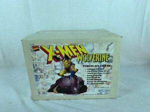 X-Men Wolverine Cold Cast Porcelain Figure Sentinel Series Statue