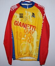 Vintage Gianetti Day 1998 cycling jersey shirt Size 4 hand signed Fiorenzo