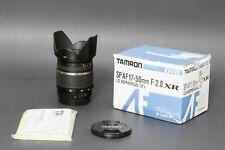 Tamron SP A016 17-50mm f/2.8 Di-II XR AF IF, For Canon Crop Sensor, Free Ship #1