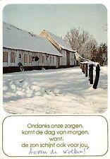 BT3438 Ondanks onze zorgen komty de dog van morgen want     Netherlands