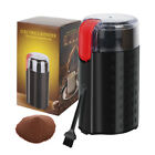 200W Electric Coffee Grinder Spice Grinder for Nuts Stainless Steel Blade-Black