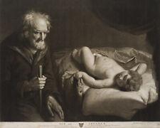 """J.R. SMITH (1752-1812) nach J. OPIE (1761-1807), """"Alter und Jugend"""", 1785, Mezz."""